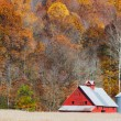 Autumn Farm Panorama — Stock Photo