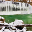 Winter at Cataract Falls — Stock Photo #39862353