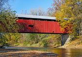 Ponte coperto di cazzo huffman — Foto Stock