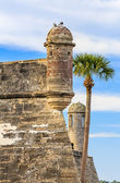 Towers of the Castillo — Stock Photo