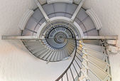 Going Up - Lighthouse Interior — Stock Photo