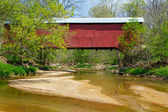 Wilkins Mill Covered Bridge — Stock Photo