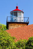 Eagle Bluff Lighthouse Tower — Stock Photo
