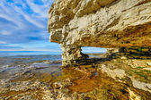 Rock Arch at Cave Point — Stock Photo
