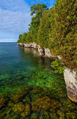 Door County Coastline — Stock Photo