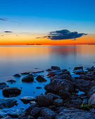 Sunset Over Sister Bay — Stock Photo