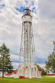 Sturgeon Bay Ship Canal Lighthouse — Stock Photo