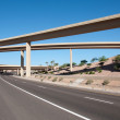 Interstate highway bridge - Stock Photo