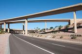 Interstate highway bridge — Stock Photo