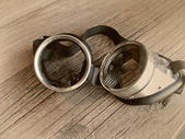 Vintage retro goggles — Stock Photo