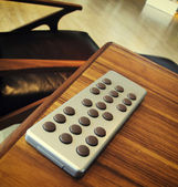 Modern stylish remote control — Stockfoto