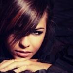 bello rostro de mujer joven y bonita — Foto de Stock