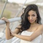 Beautiful exotic young woman — Stock Photo