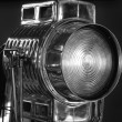 Retro Hollywood style movie light - Stock Photo