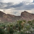 landscape photo of majestic camelback mountain phoenix in scottsdale arizona — Stock Photo