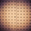 Stock Photo: Bulletin blank wood tack corkboard