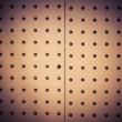 Bulletin blank wood tack corkboard — Stock Photo