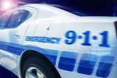 New York police car — Stock Photo