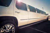 Stretch limo — Stock Photo
