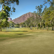 Arizona golf course, USA — Stock Photo