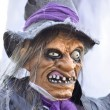 Horrible witch statue — Stock Photo