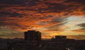 Twilight cloudscape — Stock Photo