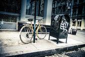 Escena de la calle de la ciudad de nueva york — Foto de Stock