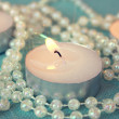 Tea lights — Stock Photo