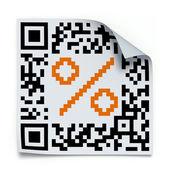 QR code concept — Foto de Stock