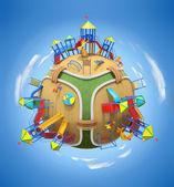 Playground planet — Stock Photo