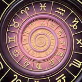 Espiral do zodíaco — Foto Stock
