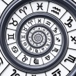 Zodiac spiral — Stock Photo