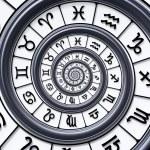 Zodiac spiral — Stock Photo