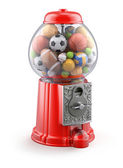 Gumball machine with sport balls — Stock Photo