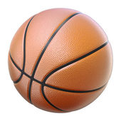 Basketball isolated on a white background — Stock Photo