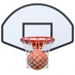 Basket ball in the hoop — Stock Photo #36778973