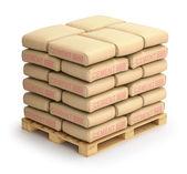 Cement sacks — Stock Photo