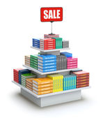 Book sale — Stock Photo
