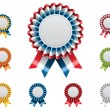 Постер, плакат: Vector award badges set