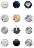 Conjunto de botões de vetor — Vetorial Stock
