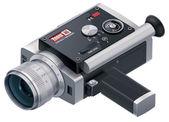 Vector retro camcorder icon — Stock Vector