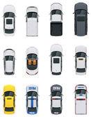 Wektor zestaw samochodów — Wektor stockowy
