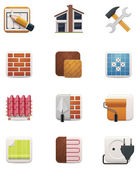 House renovation icon set. Part 1 — Stock Vector