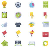 Soccer icon set — Stock Vector