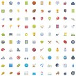 Big Sport icon set — Stock Vector #49307093