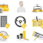 Vector online banking icon set. Part 4 — Stock Vector #9000515