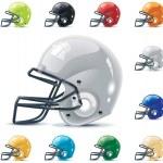 Vector American football-gridiron icon set. Part — Stock Vector #9240049
