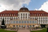 Grand hotel in zoppot — Stockfoto