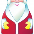 Stock Vector: SantClaus in vector