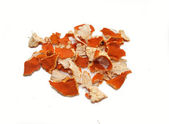 Dried up crusts of mandarine — Stock Photo